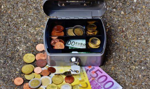 金庫とお金