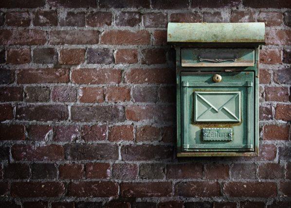 郵便物を確認